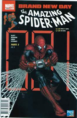The Amazing Spider-Man (Grapas) #548