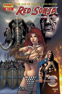 Red Sonja (Variant Cover 2005-2013) #18.1