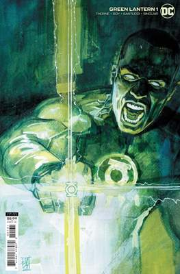 Green Lantern (2021- Variant Cover) #1.1