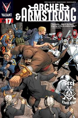 Archer & Armstrong (Comic Book) #17