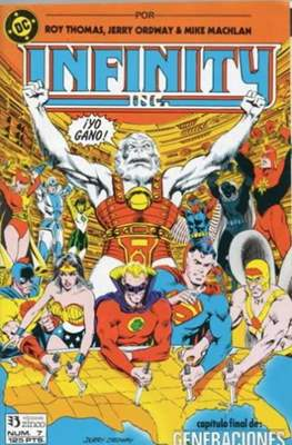 Infinity Inc. (1986-1988) (Grapa) #7