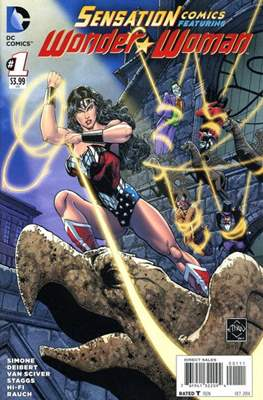 Sensation Comics Featuring Wonder Woman (2014-2016) (Comic-Book) #1