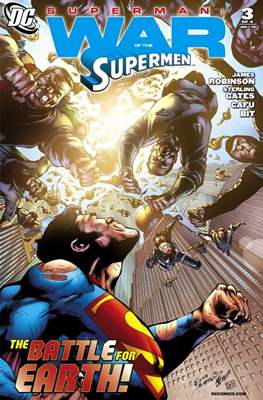 Superman: War of the Supermen (2010) (Digital) #3