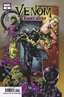 Venom: First Host (Comic Book) #4