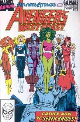 Avengers West Coast Annual (1986-1993) (Comic-Book) #4