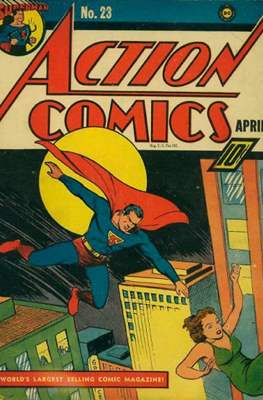 Action Comics Vol. 1 (1938-2011; 2016-) (Comic Book) #23