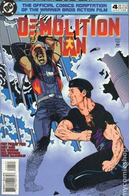 Demolition Man (Comic Book) #4