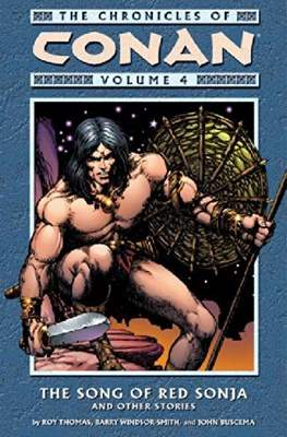The Chronicles of Conan the Barbarian (Paperback) #4