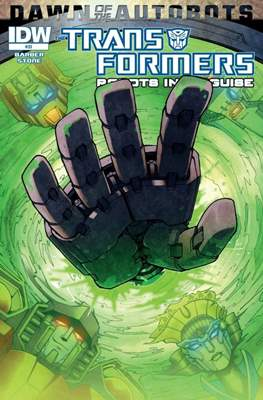 Transformers: Robots in Disguise (Cómic grapa) #33