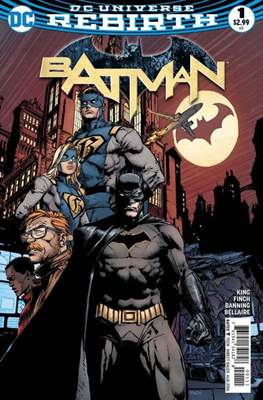 Batman Vol. 3 (2016-) (Comic Book) #1