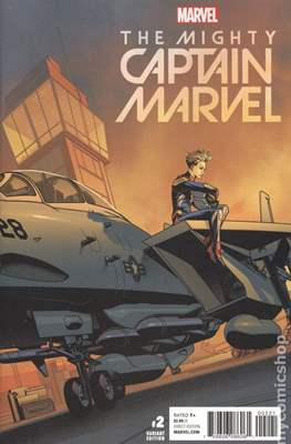 The Mighty Captain Marvel (2017-) Variant Covers #2.3