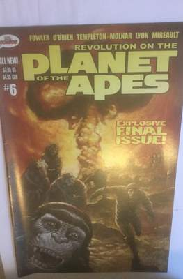 Revolution on the Planet of the Apes (Comic Book 32 pp) #6