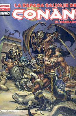La Espada Salvaje de Conan el Bárbaro. Edición coleccionistas (Rústica 64 pp) #61