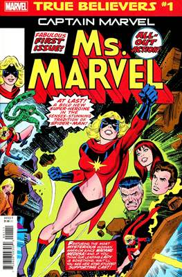 True Believers: Captain Marvel - Ms. Marvel