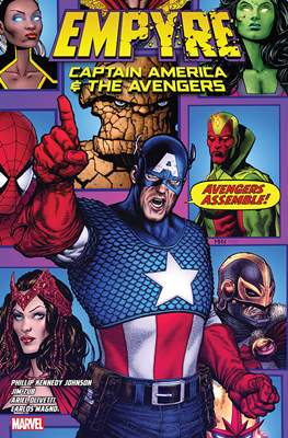 Empyre - Captain America & The Avengers