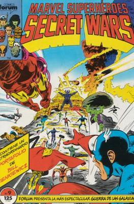 Secret Wars (1985-1987) (Grapa 32 pp) #9