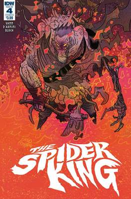 The Spider King. Variant Covers #4