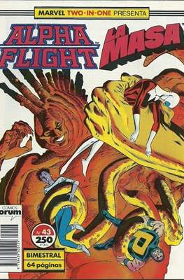 Alpha Flight Vol. 1 / Marvel Two-in-one: Alpha Flight & La Masa Vol.1 (1985-1992) (Grapa 32-64 pp) #43