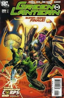 Green Lantern Vol. 4 (2005-2011) (Comic book) #25