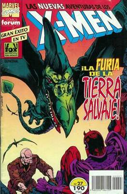 Las nuevas aventuras de los X-Men (Grapa 24 pp) #27