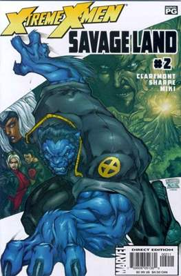 X-Treme X-Men: Savage Land (Comic Book) #2