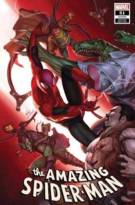 The Amazing Spider-Man Vol. 5 (2018- Variant Cover) (Comic Book) #51
