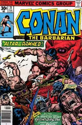 Conan The Barbarian (1970-1993) (Comic Book 32 pp) #71