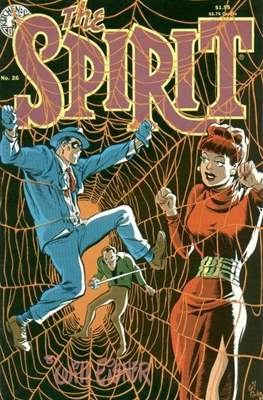 The Spirit (1983-1992) (Comic book. 32 pp) #26