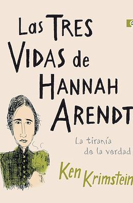 Las tres vidas de Hannah Arendt (Rústica 240 pp) #