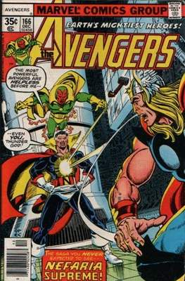 The Avengers Vol. 1 (1963-1996) (Grapa) #166