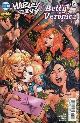 Harley and Ivy Meet Betty and Veronica (Comic Book) #2
