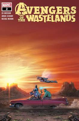 Avengers of the Wastelands (Comic Book) #2
