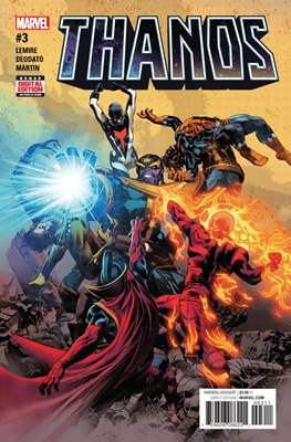 Thanos (Comic-book) #3