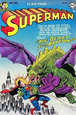 Superman Vol. 1 / Adventures of Superman Vol. 1 (1939-2011) (Comic Book) #78