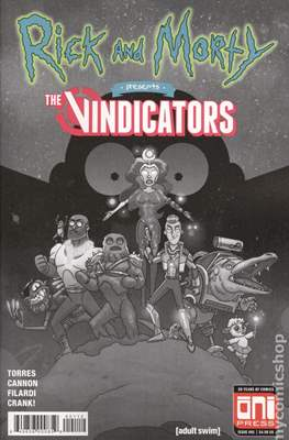 Rick and Morty Presents The Vindicators (Variant Covers) (Comic Book) #1.2