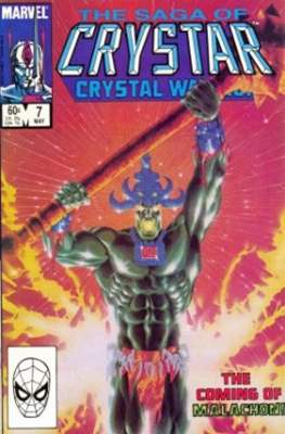 Saga of Crystar, Crystal Warrior #7
