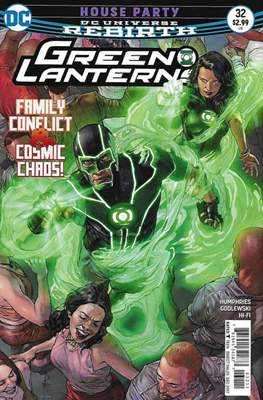 Green Lanterns Vol. 1 (2016-2018) (Comic-book) #32