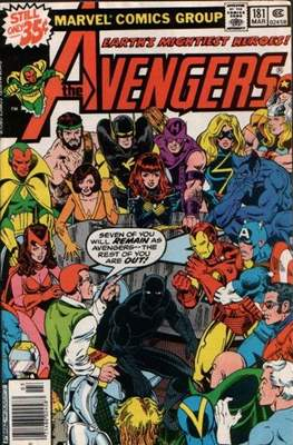 The Avengers Vol. 1 (1963-1996) (Grapa) #181