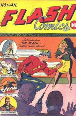 Flash Comics / The Flash (1940-1949, 1959-1985, 2020-)