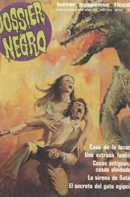 Dossier Negro (Rústica y grapa [1968 - 1988]) #217