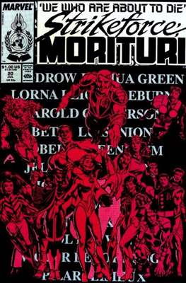 Strikeforce Morituri (Comic-book.) #20