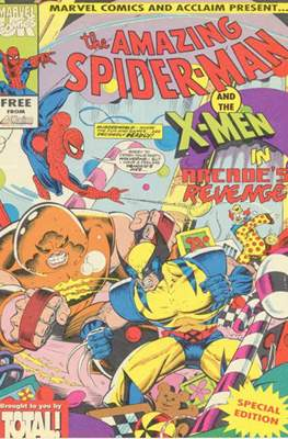 The Amazing Spider-Man and the X-Men in Arcade's Revenge