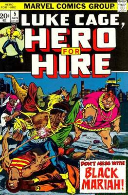 Hero for Hire/Power Man Vol.1 (1972-1978) (Grapa, 32 págs.) #5