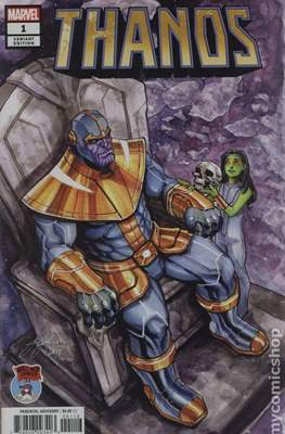 Thanos (2019 Variant Cover) #1.9
