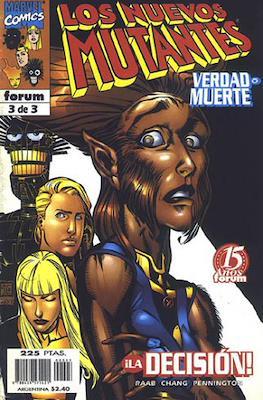 Los Nuevos Mutantes: Verdad o muerte (1998) (Grapa. 17x26. 24 páginas. Color.) #3