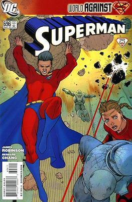 Superman Vol. 1 / Adventures of Superman Vol. 1 (1939-2011) (Comic Book) #696