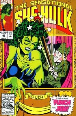 Sensational She-Hulk (1989-1994) (Comic Book) #47