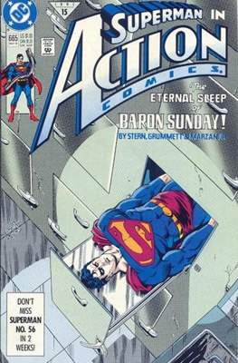 Action Comics Vol. 1 (1938-2011; 2016-) (Comic Book) #665