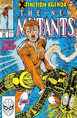 The New Mutants (Grapa) #95
