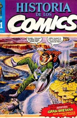 Historia de los Cómics (Grapa 32 pp) #21